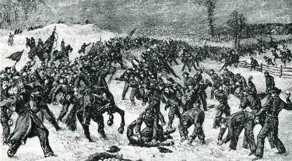 civil war snowball fight